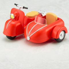 Cu-poche Extra Motorcycle & Sidecar (Milk White)