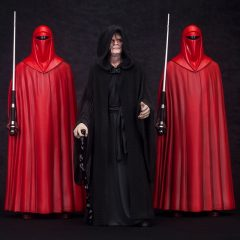 ARTFX+ Emperor Palpatine with Royal Guard 3Pack