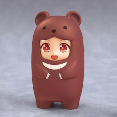 Nendoroid More Kigurumi Face Parts Case (Brown Bear)