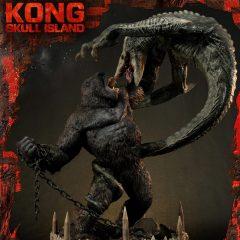 Ultimate Diorama Masterline Kong: Skull Island (Film) UDMKG-01: Kong Vs Skull Crawler