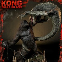Ultimate Diorama Masterline Kong: Skull Island (Film) UDMKG-01DX: Kong Vs Skull Crawler Deluxe Version