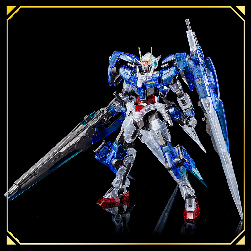Mg 1 100 The Gundam Base Limited 00 Gundam Seven Sword G Clear Color Toy Beat