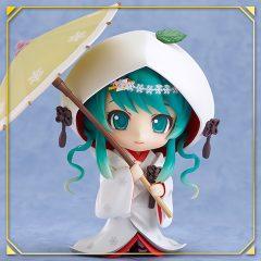 Nendoroid 303 Snow Miku: Strawberry White Kimono Ver.