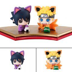 Petit Chara Land Maneki-Neko Maneki Kyubi Dattebayo! Set of 2 Mascot Figures
