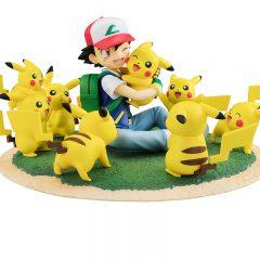 G.E.M. Series Ash Ketchum & Pikachu (Many Pikachu Ver.)