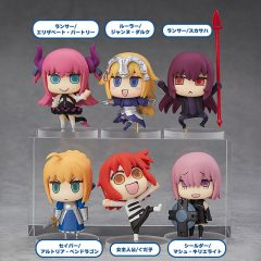 "Learning with Manga! ""Fate/Grand Order"" Collectible Figure 6Pack"