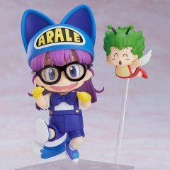 Nendoroid 1009 Arale Norimaki Cat Ears Ver. & Gatchan