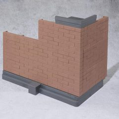 Tamashii OPTION Brick Wall (Brown ver.)