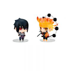 Chimi Mega Buddy Series ! No.003 Naruto Uzumaki & Sasuke Uchiha Great Ninja War Set
